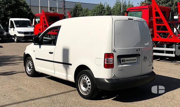 lateral izquierdo VW Caddy Furgón 2.0 TDI 140 CV