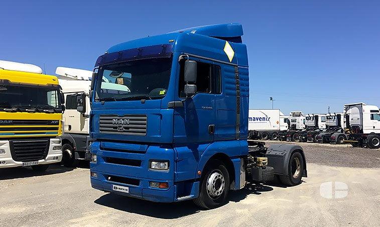 MAN TGA 18480 4x2 BLS Cabeza Tractora (2006)