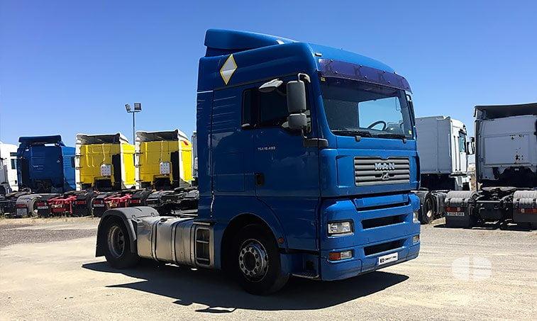 MAN TGA 18480 4x2 BLS Cabeza Tractora (2006) derecha