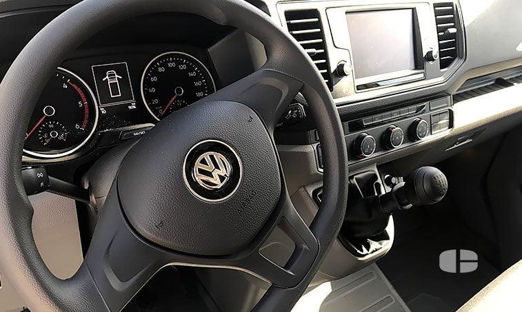 interior VW Crafter Chasis 35 L4 2.0 TDI 140 CV