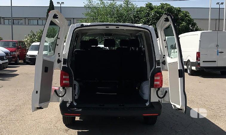 zona de carga VW Transporter Mixto 2.0 TDI 102 CV BC SCR BMT