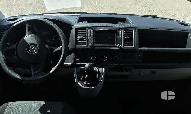 interior delante VW Transporter Mixto 2.0 TDI 102 CV BC SCR BMT