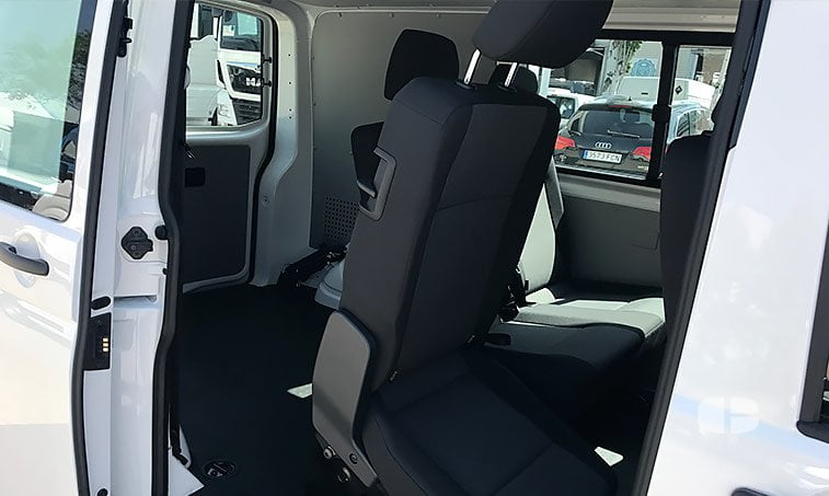 asientos VW Transporter Mixto 2.0 TDI 102 CV BC SCR BMT