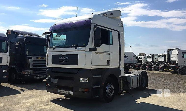 MAN TGA 18480 4x2 BLS (2009) Tractora