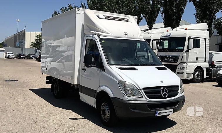 Mercedes Sprinter 515 CDI 2.2 150 CV Furgón Frigorífico derecha