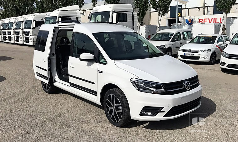 VW Caddy Outdoor 2.0 TDI 150 CV Mixto 2017