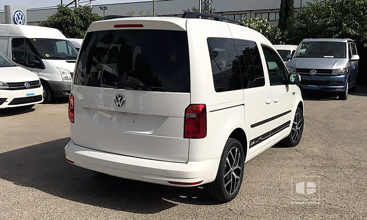 vw caddy outdoor 2 0 tdi 102 cv mixto  u2022 comatrasa
