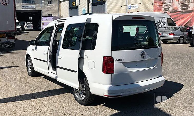 lateral izquierdo VW Caddy Maxi Trendline 1.4 TGI 110 CV 7 plazas