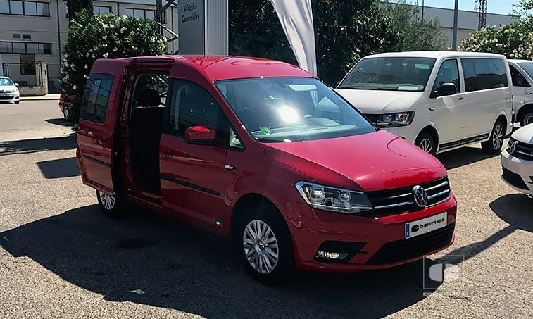VW Caddy Trendline 2.0 TDI 102 CV Mixto