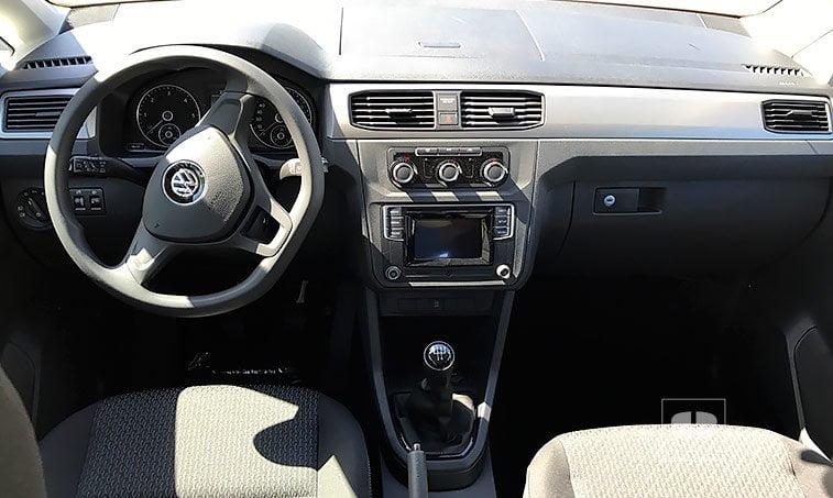 interior Volkswagen Caddy Edition 2.0 TDI 102 CV