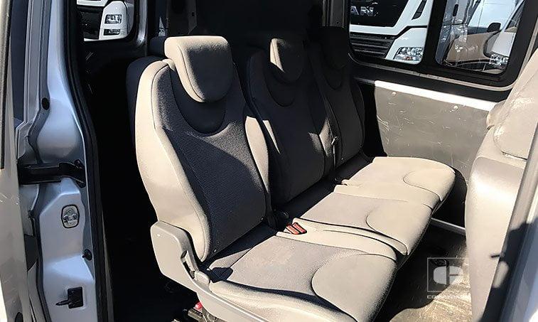 asientos Peugeot Expert Tepee 2.0 HDi 120 CV