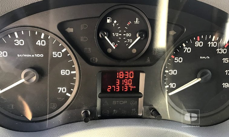 kilómetros Peugeot Expert Tepee 2.0 HDi 120 CV