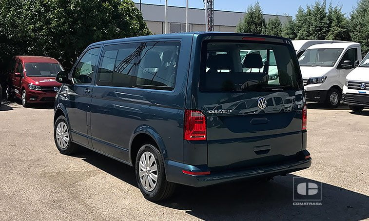 lateral izquierdo VW Caravelle 2.0 TDI 114 CV Mixto Adaptable