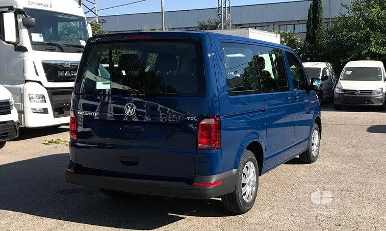 lateral derecho VW Caravelle Trendline 2.0 TDI 150 CV Mixto Adaptable