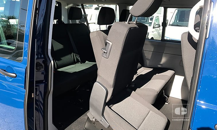 asientos VW Caravelle Trendline 2.0 TDI 150 CV Mixto Adaptable