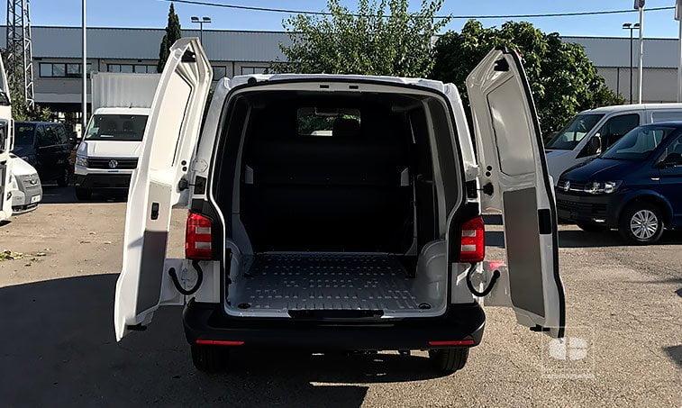 Zona de carga VW Transporter 2.0 TDI 102 CV BC