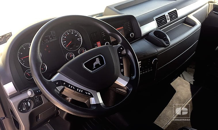 interior MAN TGX 18440 2013 4x2 BLS Cabeza Tractora