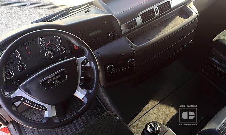 interior MAN TGX 18480 4x2 BLS Tractora