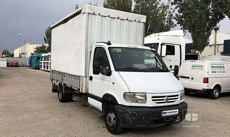 Renault Mascott 130.35 Caja Cerrada Lona