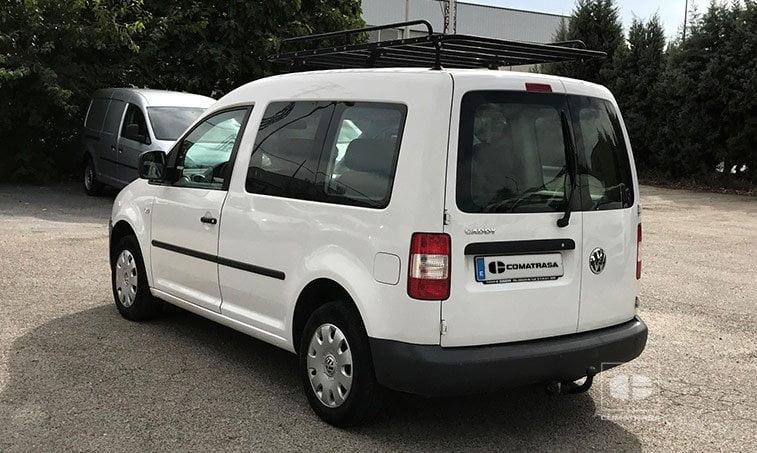 lateral izquierdo VW Caddy 1.9 TDI 105 CV Mixto 5 plazas