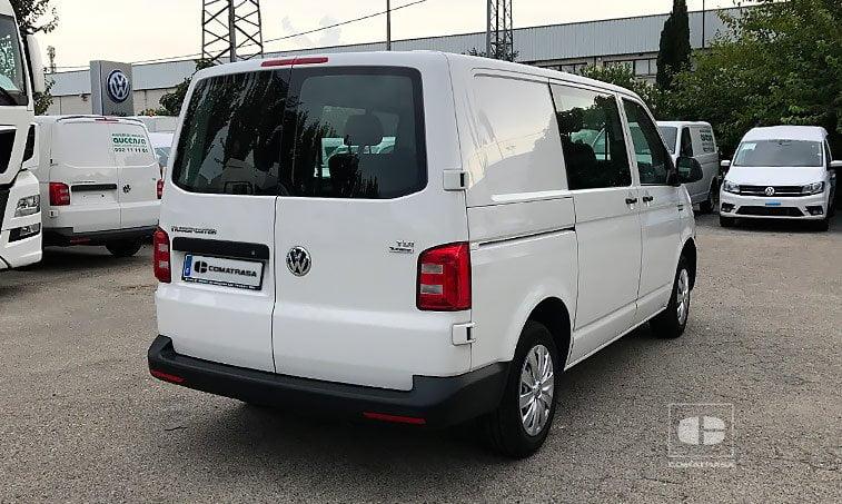lateral derecho VW Transporter Kombi 102 CV 2.0 TDI