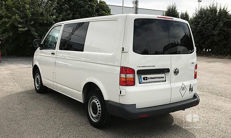 lateral izquierdo VW Transporter 1.9 TDI 102 CV 2010
