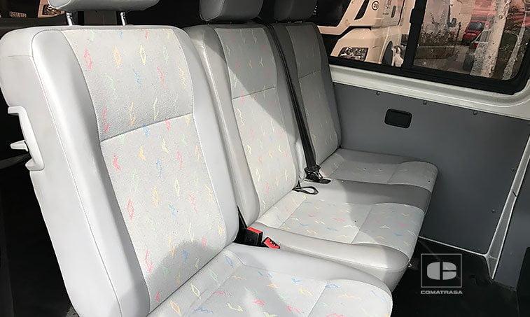 asientos VW Transporter 1.9 TDI 102 CV 2010