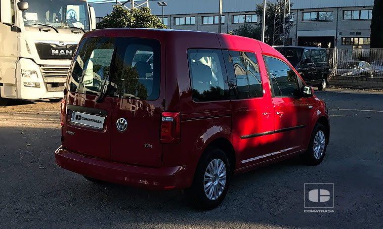lateral derecho VW Caddy Trendline 2.0 TDI 102 CV SCR BMT