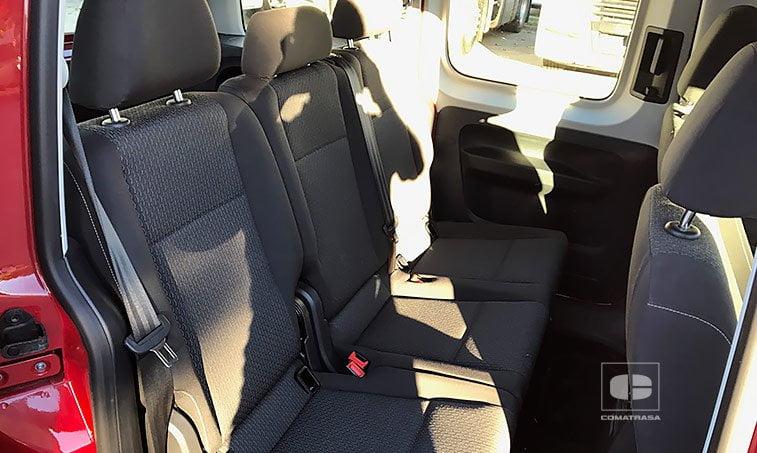 asientos VW Caddy Trendline 2.0 TDI 102 CV SCR BMT