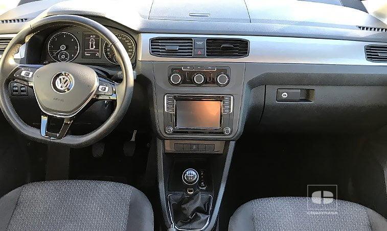 interior VW Caddy Trendline 2.0 TDI 102 CV SCR BMT