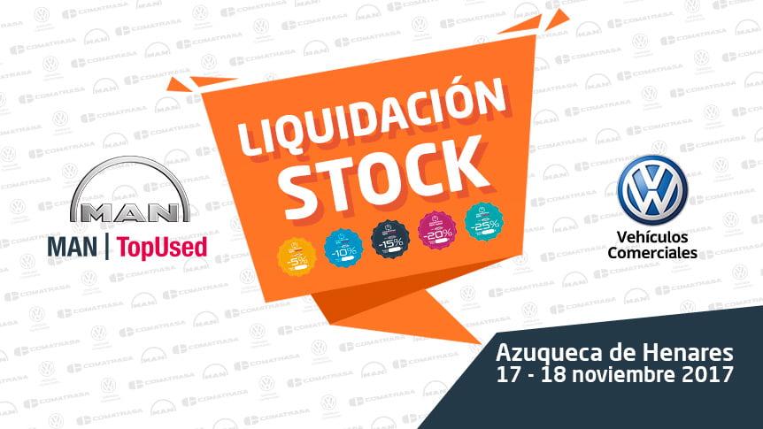 Liquidación stock vehículos MAN industriales y VW comerciales