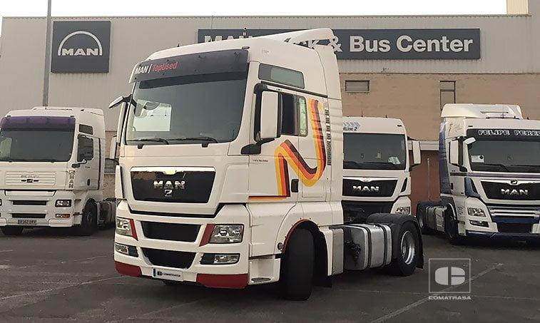 MAN TGX 18480 4x2 BLS Efficientline Tractora