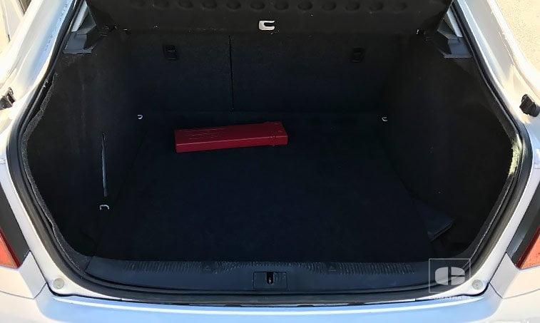 capacidad maletero Skoda Octavia 1.6 TDI 105 CV