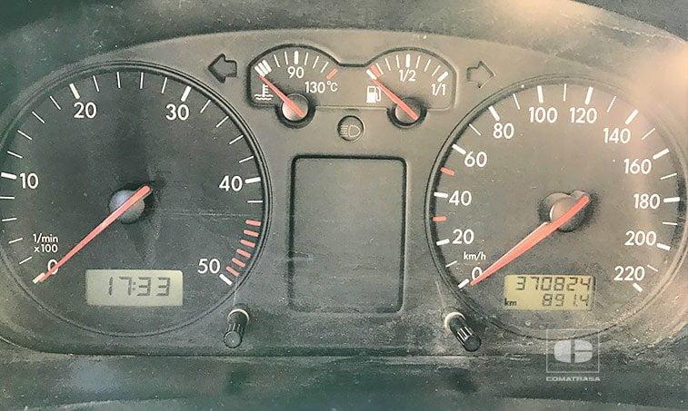 kilómetros Volkswagen Transporter T4 2002