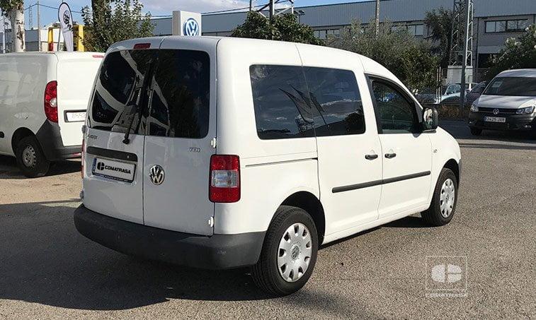lateral derecho VW Caddy 2006 1.9 TDI 5V 105 CV