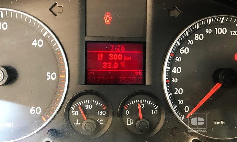 kilómetros VW Caddy 2006 1.9 TDI 5V 105 CV