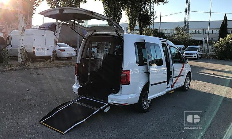 VW Caddy Maxi Trendline 2.0 TDI 102 CV rampa Taxi