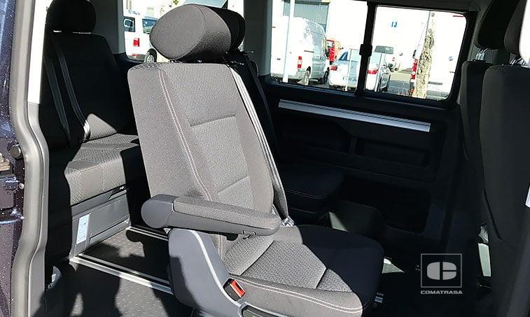 asientos VW Multivan The Original 2.0 TDI 150 CV DSG