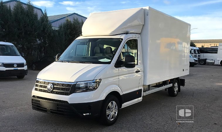 vw crafter box chasis carozado bl 2 0 tdi 140 cv l4 2018 nuevo. Black Bedroom Furniture Sets. Home Design Ideas