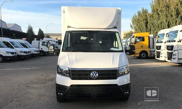 VW Crafter Box Chasis Carozado Batalla Larga
