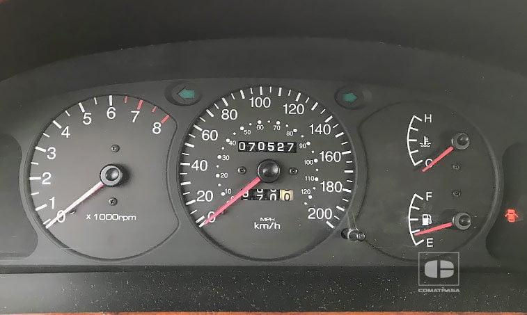 kilómetros KIA Carens FC 1.8i 110 CV Monovolumen