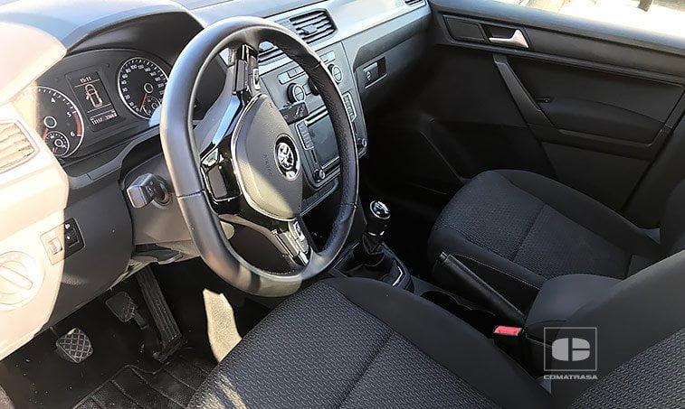 interior VW Caddy Maxi Trendline 2.0 TDI 102 CV 2017