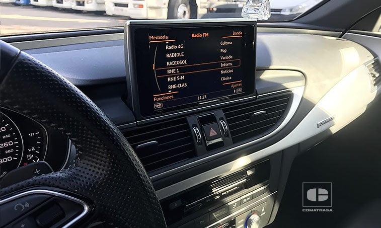 navegador Audi A7 Sportback 3.0 TDI 272 CV Quattro S Tronic