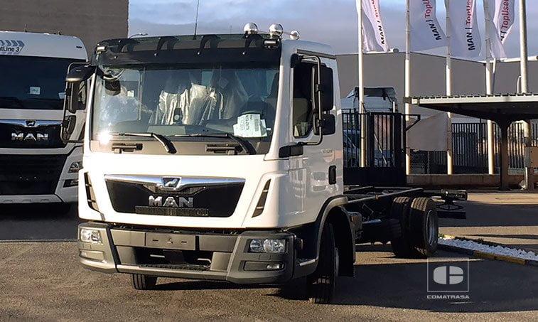 MAN TGL 8190 4x2 BL Chasis Camión