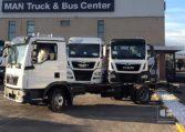 MAN TGL 8190 4x2 BL Chasis Camión nuevo