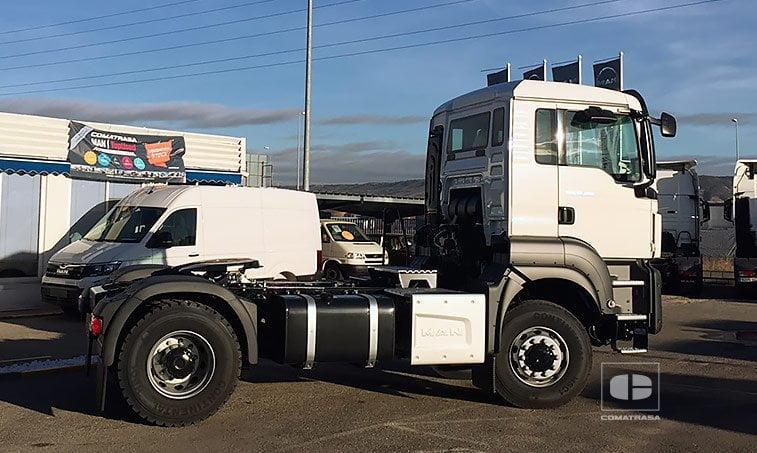 MAN TGS 18420 4x4 BLS Cabeza Tractora tracción integral