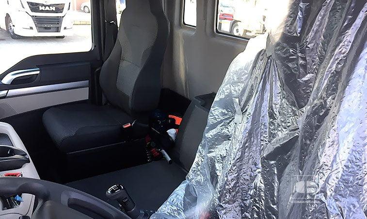 asientos MAN TGS 18420 4x2 BLS SC Cabeza Tractora