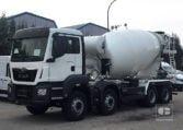 MAN TGS 35360 8x4 BB Camión Hormigonera