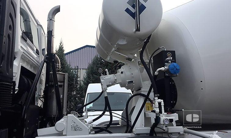 bomba presión MAN TGS 35360 8x4 BB Camión Hormigonera