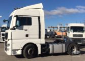 MAN TGX 18480 4x2 BLS Efficientline matriculación 2014